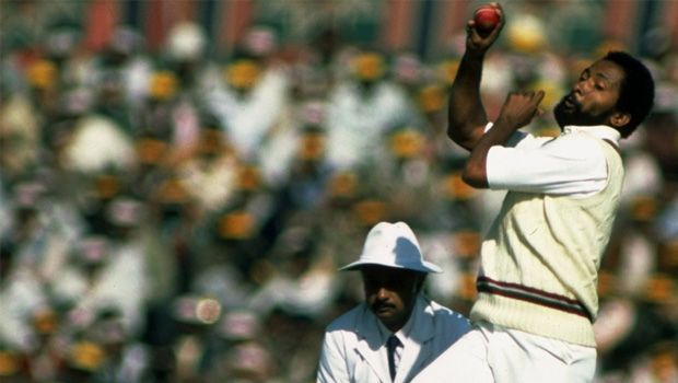 Andy Roberts took 9 wickets including a match-winning 5 for 39 in the second innings.