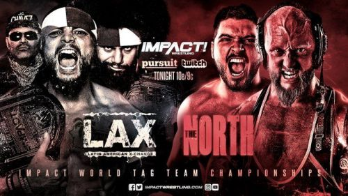 The North finally challenged for the Tag Team Titles