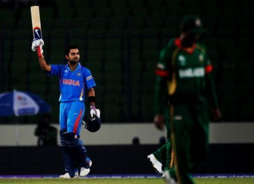 Virat Kohli, India vs Bangladesh.