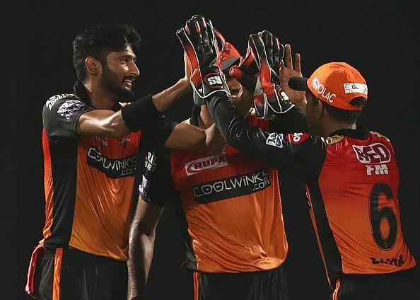 Khaleel Ahmed with 19 wickets in 9 games ended as Sunrisers Hyderabad