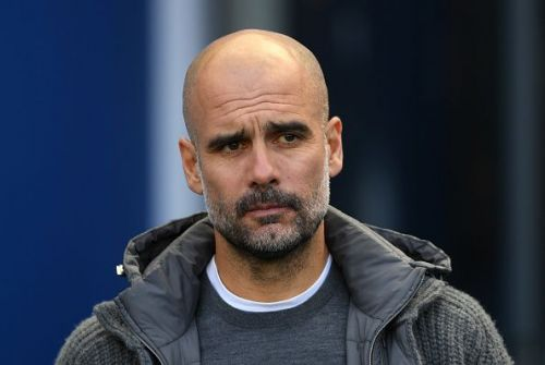 Guardiola's Manchester City are under threat of being banned from the Champions League