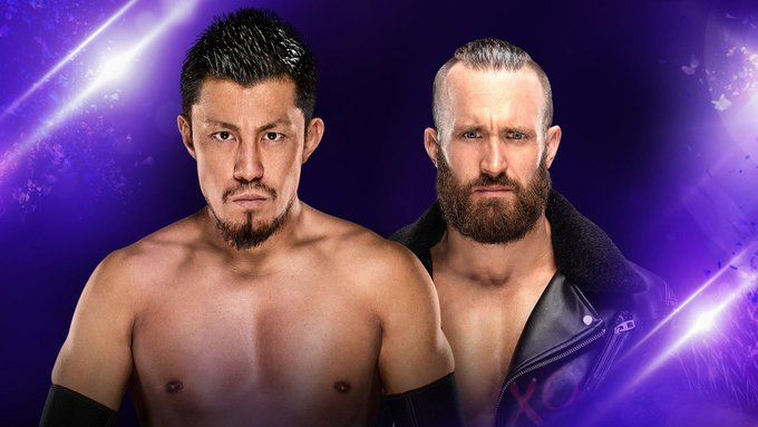Mike Kanellis looked to prove he could win without Maria by his side