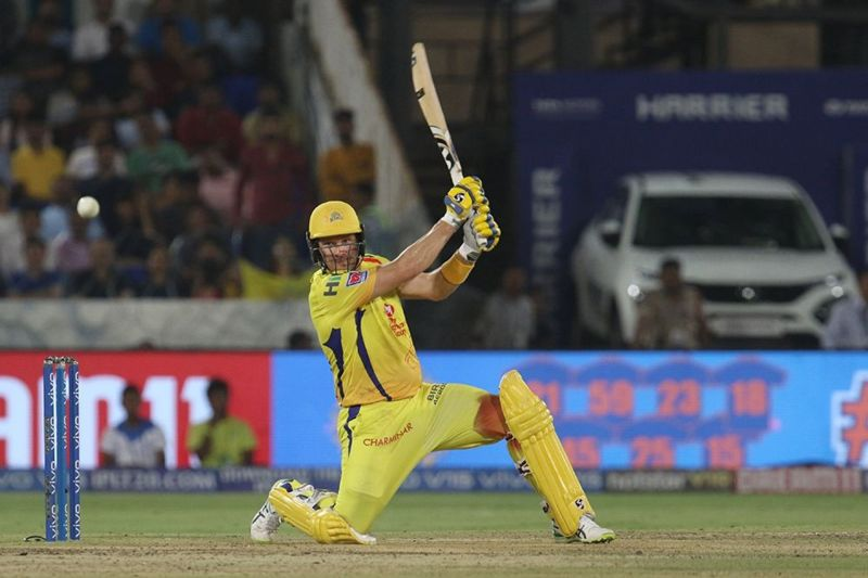 Shane Watson played the finals with an injury and scored 80 runs (Image Courtesy: BCCI/IPLT20.COM)
