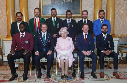 ICC Cricket World Cup 2019 team captains meet Queen Elizabeth II at Buckingham Palace.