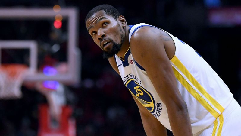 09aaee5dec6 Warriors  Durant to miss Game 1 against Trail Blazers
