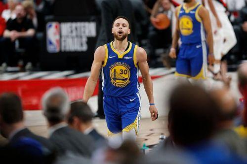 Golden State Warriors v Portland Trail Blazers - Game Four