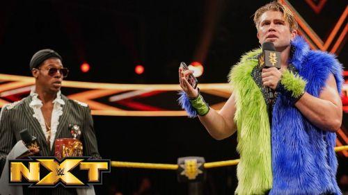 Tyler Breeze returns to NXT to challenge the Velveteen Dream.