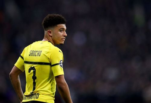 Jadon Sancho has starred for Borussia Dortmund this season - and should stay there for the foreseeable future