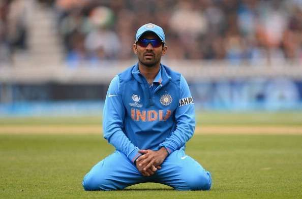 Dinesh Karthik failed to impress at the number four spot.