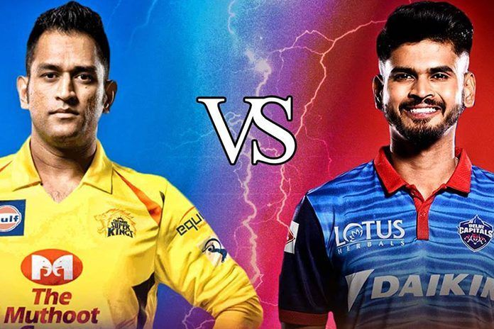 Chennai Super Kings vs Delhi Capitals at the MA Chidambaram