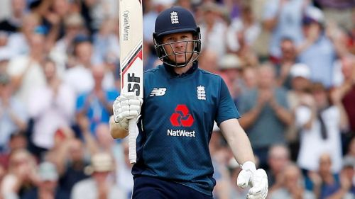 573 runs scored by Eoin Morgan of England is the highest number of runs scored by a player at this ground.