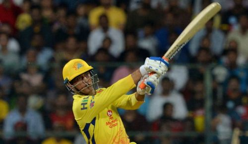 Dhoni has scored 358 runs from 11 games and smashed 20 sixes in this tournament
