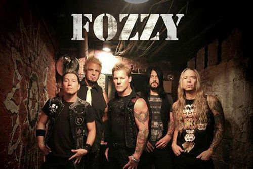 Chris Jericho is also the lead singer of his band, Fozzy