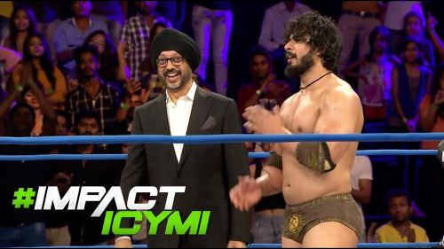 Shera says that he considers Impact Wrestling to be home
