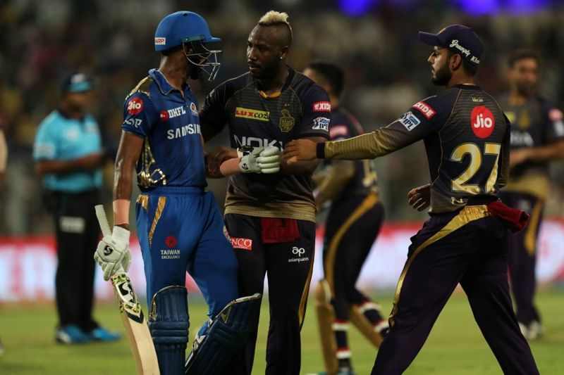 Andre Russell and Hardik Pandya will come face-to-face once again (Picture courtesy: iplt20.com)