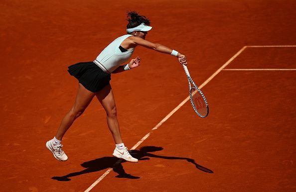 Mihaela Buzarnescu fired on all cylinders during her first round at the BNL Internazionali D