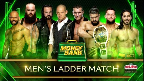 The Final lineup for Men's Money in the Bank Ladder match