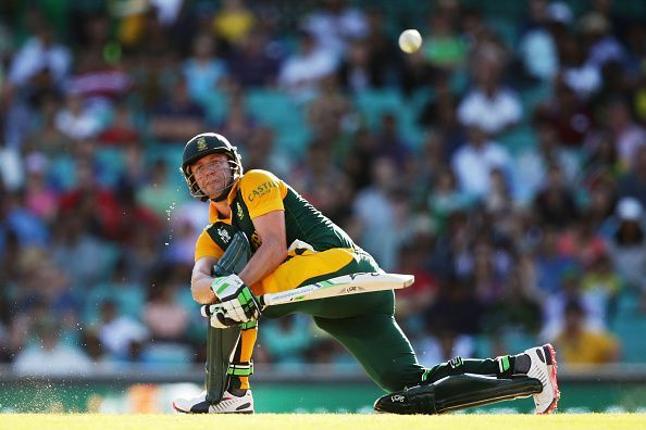 AB De Villiers is one of the outstanding batsmen of our generation