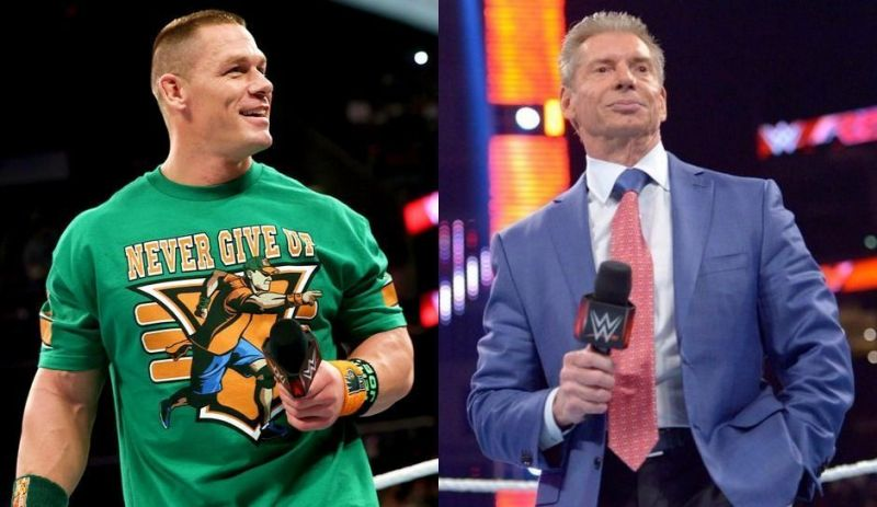 Image result for john cena vince mcmahon