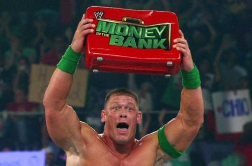 John Cena won the annual Money in the Bank ladder match back in 2012