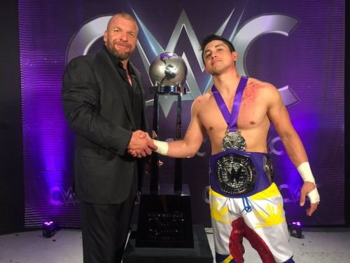 TJP says he enjoyed his interactions with Triple H