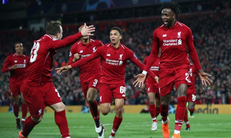 Origi was the Star of the show as Liverpool beat Barcelona in the Champions League Semi-Final