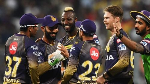 Kolkata knight riders are now securing 5th place in 2019 IPL points table