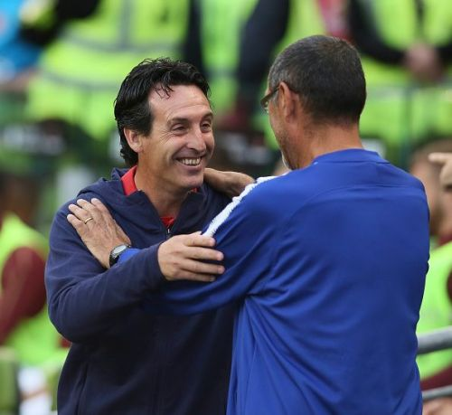 Unai Emery and Maurizio Sarri will be looking to finish the season on a high with Europa league triumph