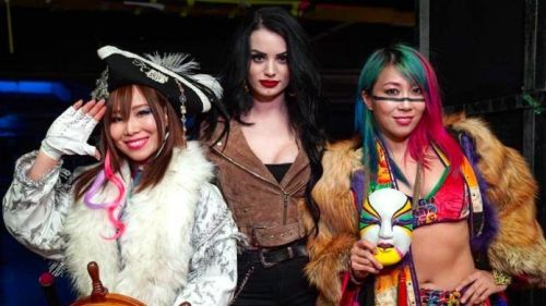 The Kabuki Warriors could win the WWE Women's Tag Team Titles after Money in the Bank.