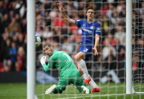 De Gea's latest gaffe cost United a vital win vs their fellow top four contenders, Chelsea