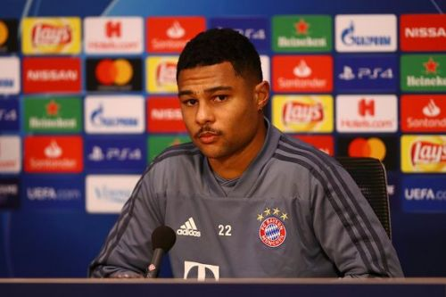 Serge Gnabry has been one of the stars for Bayern Munich this season.