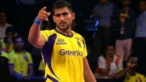 Rahul Chaudhari is also known as the poster-boy of Pro Kabaddi League