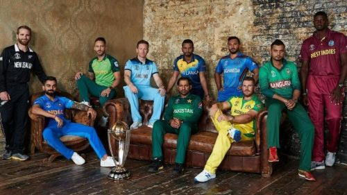 Captains of all the teams in one frame