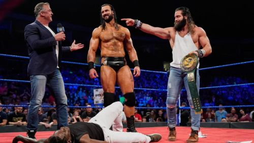 Why did Shane McMahon even let Elias win the title?