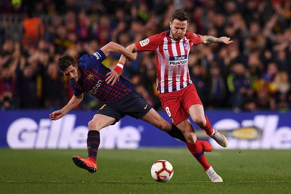 Atletico look set to lose Saul Niguez in the summer