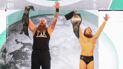 Daniel Bryan & Rowan had a big night