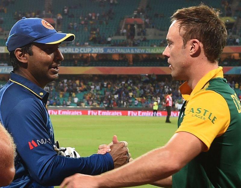 Sangakkara and AB de Villiers