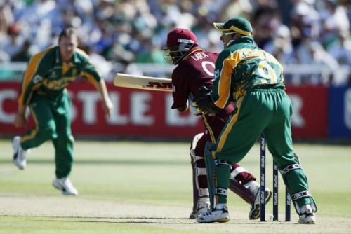 It was an exhilarating Brian Lara master class as hosts South Africa went down in a close finish.