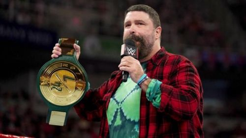 WWE's newest title was unveiled by Mick Foley last week on Raw