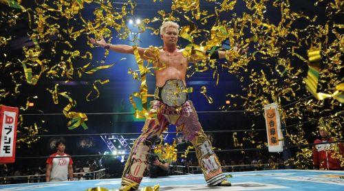 IWGP Heavyweight Champion, 'The Rainmaker' Kazuchika Okada
