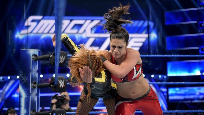 Bayley on SmackDown Live this week