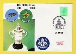 1983 Cover on Pakistan versus New Zealand match..