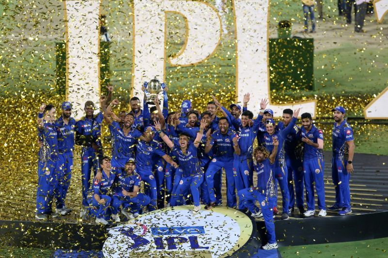 Mumbai Indians won their 4th IPL title