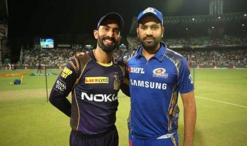 कोलकाता और मुंबई के कप्तान