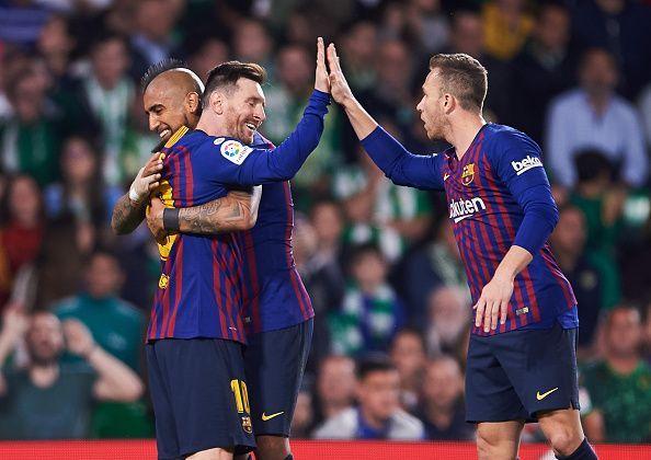 Barcelona won their 26th La Liga this season