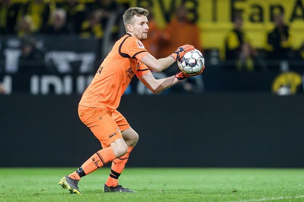 Lukas Hradecky has been a key figure for Bayer Leverkusen this year, helping his side into the top 4 of the Bundesliga.