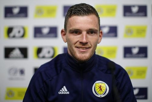 Scotland captain was talking to the media ahead of their clash against Belgium in the Euro 2020 Qualifiers