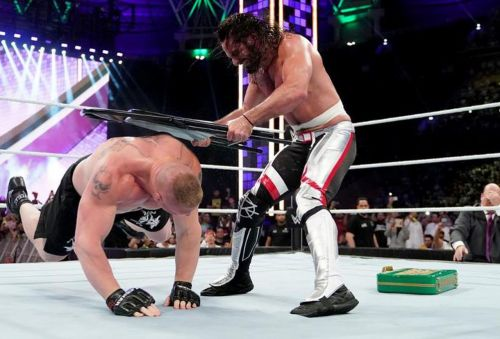 Lesnar failed to cash-in Money in the Bank but remains the contract holder, though this wasn't always the plan.