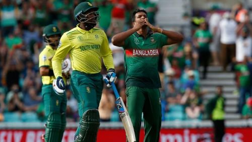 Bangladesh defeated South Africa comprehensively