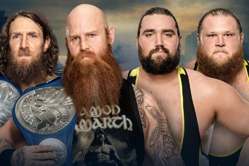 Heavy Machinery gets their first crack at tag titles on the main roster